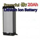 Batería de litio de 48 V 20 Ah con cargador de 4 A, batería eléctrica de alta potencia de 48 V