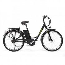 Bicicleta ELECTRICA Mod. Sunray 200 BATERIA Ion Litio 36V 10AH negra