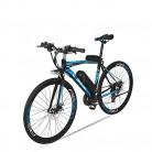 BNMZX Bicicleta eléctrica, Bicicleta de Carretera Masculina/Femenina blue