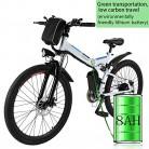 Bunao Bicicleta eléctrica de montaña, 250W, Batería 36V E-Bike