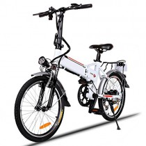 Bunao Bicicleta eléctrica de montaña, 250W, Batería 36V