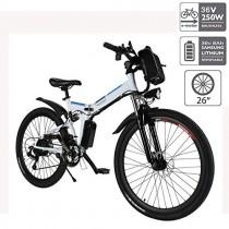 cooshional Bicicleta Eléctrica Plegable de Montaña