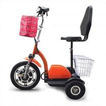 Dpliu-HW Bicicleta Eléctrica Scooter eléctrico de Tres Ruedas Old Age