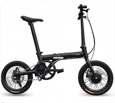 Ebike plegable mini de 16 pulgadas – Bicicleta de montaña eléctrica híbrida