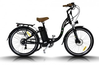 egarbike Bicicleta eléctrica P-CITY CAMBIO NEXUS 7 SP Lifepo4 36V 10ah Paseo 26″