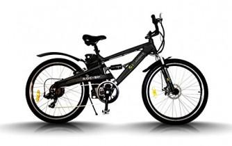 Egarbike Bicicleta eléctrica ROC SP Doble Suspension 36V 10ah MTB 7 SP 360wh LIFEPO4