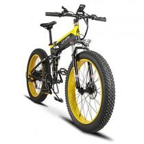 Plegable eléctrico Cruiser Bike extrbici T750 500 W 48 V 10 Ah oculta recargable grasa bicicleta montaña