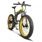 Plegable eléctrico Cruiser Bike extrbici T750 500 W 48 V 10 Ah