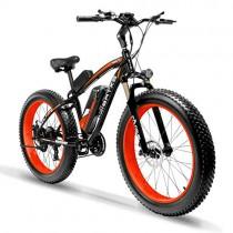 Extrbici XF660 Bicicleta eléctrica 48V 500W/1000W Bicicleta de montaña naranja