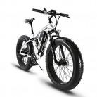 Bicicleta eléctrica (26 cm) con marco de aleación de aluminio, suspensión completa