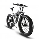 Extrbici XF800 1000W 48V 13AH Bicicleta eléctrica 26 ' blanca