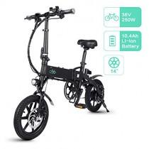 FIIDO D1 Bicicleta Eléctrica Urbana, 250W 7.8Ah/10.4Ah Ebike Plegable