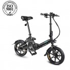 FIIDO D3 Bicicleta eléctrica plegable para adultos, bicicleta eléctrica