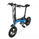 GTYW, Eléctrico, Plegable, Bicicleta, Montaña, Bicicleta, Ciclomotor Adulto azul