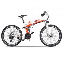 GUNAI Bicicleta Electrica 48V 500W Bicicleta de Montaña 21 Velocidades