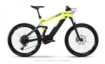 Haibike 2019 Sduro FullSeven LT 9.0 – Bicicleta eléctrica (27,5»), Color Negro, Amarillo y Azul