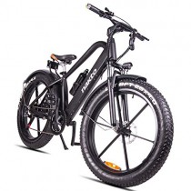 HJHJ Bicicleta de montaña eléctrica, Bicicleta híbrida de 26 Pulgadas