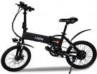 i-Bike Bicicleta eléctrica plegable con pedales asistidos, Hombre, Negro, 20 «