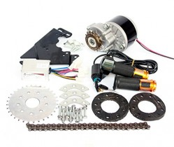 L-faster 24V36V250W Electric Conversion Kit for Common Bike Left Chain Drive