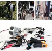 L-faster Cepillo eléctrico para Bicicleta – 250 W gaspedal eléctrico con schlüsselschalter
