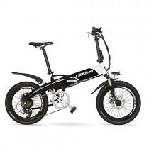 LANKELEISI G660 Batería Oculta de Alta Potencia 500W 48V10Ah 20″ Bicicleta de montaña eléctrica
