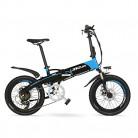 LANKELEISI G660 48V 10Ah Hidden Battery 20″ Bicicleta de montaña eléctrica Plegable