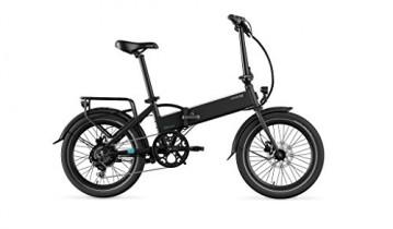 LEGEND EBIKES Monza 36v8ah Bicicleta Eléctrica Plegable, Unisex Adulto