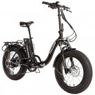 Monster 20″ LOW-e-e – eBike Plegable – Suspensión Delantera – Motor 500W antracita