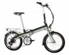 Monty EF39 – Bicicleta eléctrica, Color Negro/Verde/Plateado, 12″ / 20″