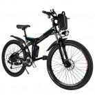 Mymotto – Bicicleta eléctrica de montaña de 26 pulgadas