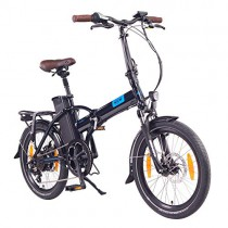 NCM London (+) Bicicleta eléctrica Plegable, 250W, Batería 36V 15Ah/19Ah