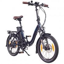 NCM Paris (+) Bicicleta eléctrica Plegable, 250W, Batteria 36V 15Ah/19Ah