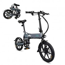 Olodui1 Bicicleta Eléctrica Plegable 250W Negro