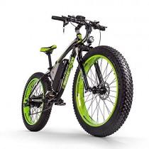 RICH BIT Bicicleta eléctrica para hombres E-bike Fat Snow Bike 1000W-48V-17Ah