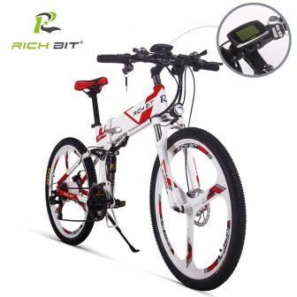 RichBit nuevo 36 V * 250 W bicicleta eléctrica de montaña híbrida...