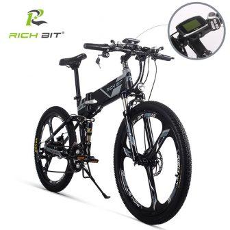 RichBit RT-860 36 V * 250 W 12.8Ah bicicleta eléctrica híbrida de...