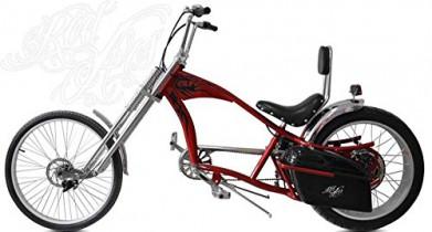 Rodars – Bicicleta Eléctrica Chopper Redzepellin