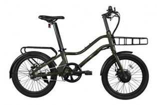 Rymebikes Bicicleta Eléctrica 20″ Nairobi, Unisex, Verde Oscuro, Talla única