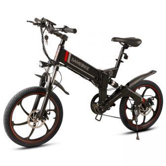 Samebike 20 ZANCHE YINYU14 bicicleta eléctrica al aire libre 10Ah 48 V...
