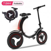 San Qing Mini Bicicleta Eléctrica Plegable Adulto Coche Eléctrico 6.0ah