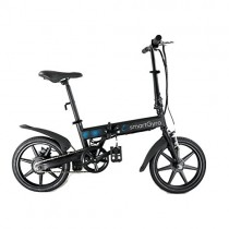 SmartGyro Ebike – Bicicleta eléctrica negra