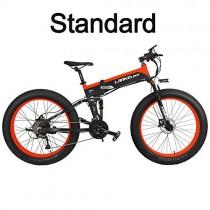 T750Plus 27 Velocidades 1000W/500W Bicicleta Eléctrica Plegable Ciclismo 26 * 4.0