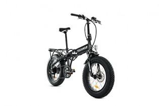 Tucano Bikes Monster HB Bicicleta Eléctrica Plegable, Gris (Antracita), Talla Única