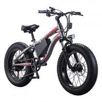Wheel-hy Bicicleta Eléctrica Fat Tire neumático Bicicleta Eléctrica Cruiser Bicicleta eBike