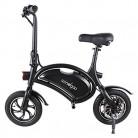 Windgoo Bicicleta eléctrica Plegable Ruedas de 12″ b3 black