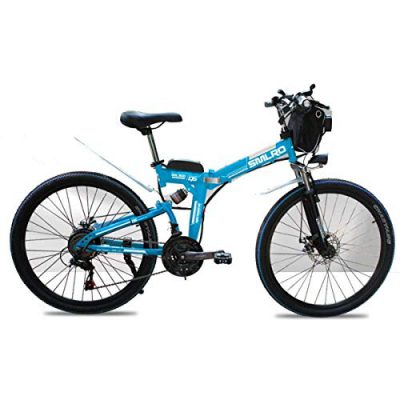 WJSW Bicicleta de montaña eléctrica Bicicletas para niños de 48 V