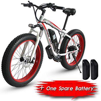 XXCY S02, Bicicleta Eléctrica, Bicicleta De Montaña Eléctrica De 26 », 1000w 15ah
