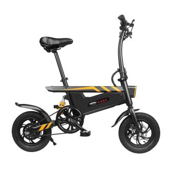 Ziyoujiguang T18 Motor ligero bicicleta eléctrica impermeable bicicleta 250 W Motor 36...